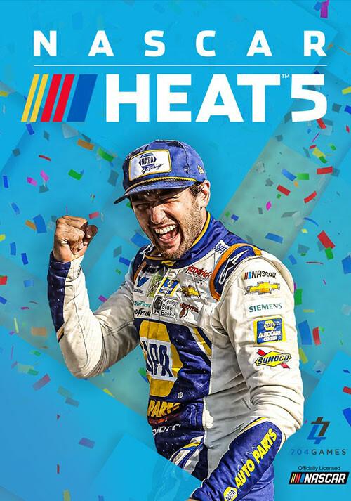 NASCAR Heat 5 - Cover / Packshot