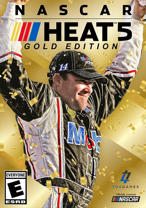 NASCAR Heat 5 - Gold Edition - Cover / Packshot