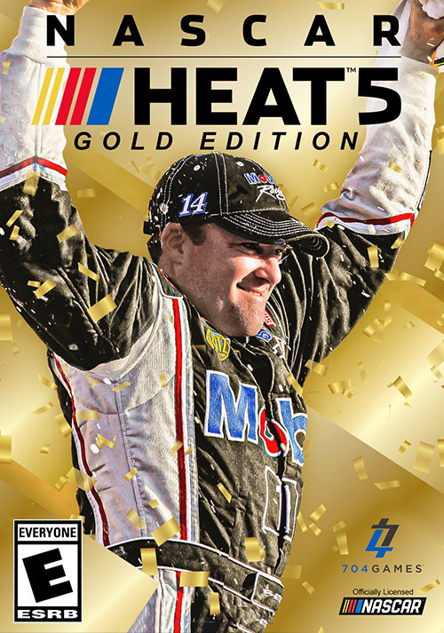 NASCAR Heat 5 - Gold Edition - Cover / Packshot