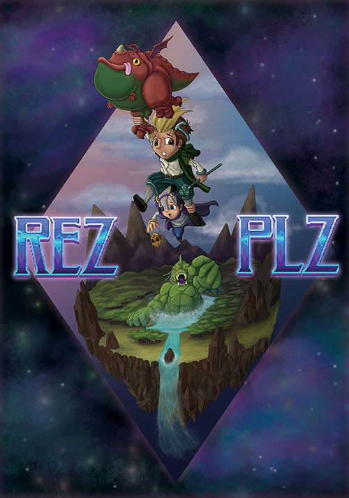 REZ PLZ - Cover / Packshot