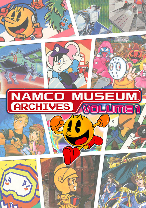 Namco Museum Archives Vol 1 - Cover / Packshot