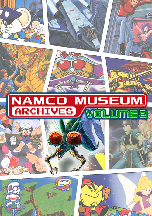Namco Museum Archives Vol 2 - Cover / Packshot