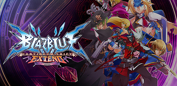 BlazBlue: Continuum Shift Extend - Cover / Packshot