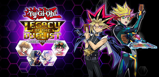 Yu-Gi-Oh! Legacy of the Duelist: Link Evolution - Cover / Packshot