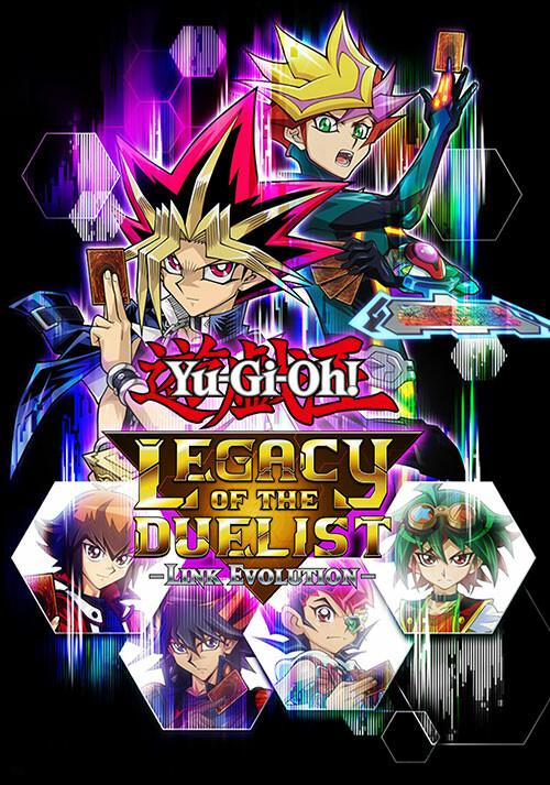 Yu-Gi-Oh! Legacy of the Duelist : Link Evolution - Cover / Packshot