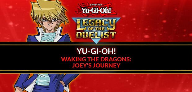 Yu-Gi-Oh! Waking the Dragons: Joey's Journey - Cover / Packshot