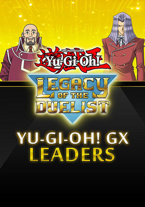 Yu-Gi-Oh! GX: Leaders - Cover / Packshot