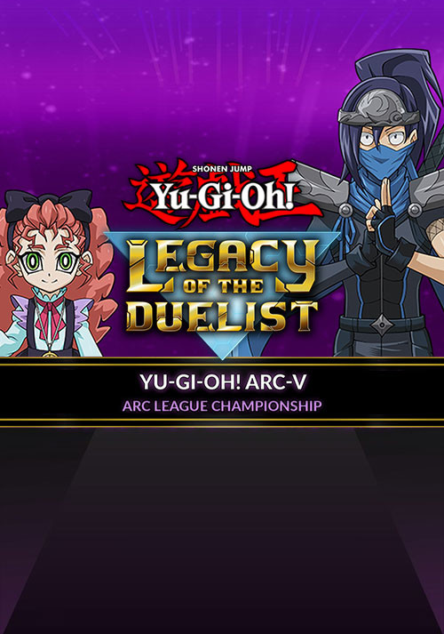 Yu-Gi-Oh! ARC-V: ARC League Championship - Cover / Packshot
