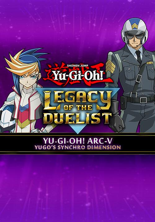 Yu-Gi-Oh! ARC-V: Yugo's Synchro Dimension - Cover / Packshot