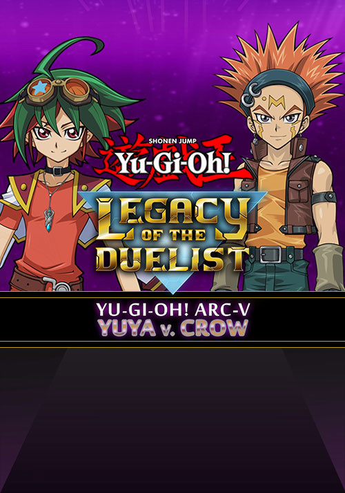 Yu-Gi-Oh! ARC-V: Yuya vs Crow - Cover / Packshot