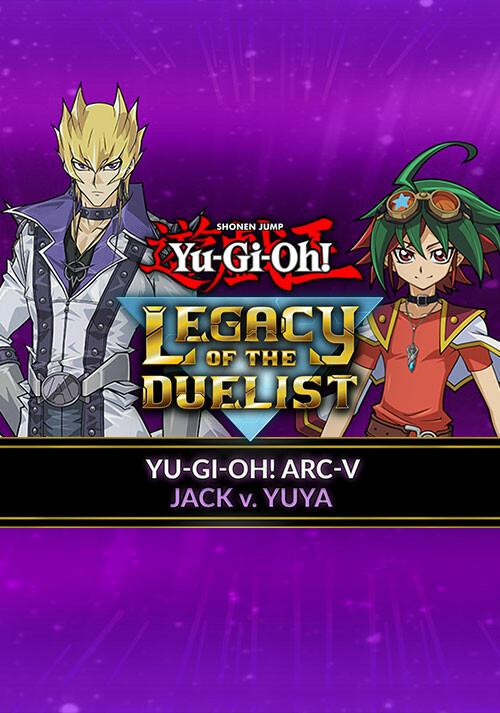 Yu-Gi-Oh! ARC-V: Jack Atlas vs Yuya - Cover / Packshot