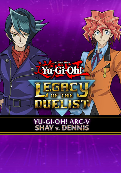 Yu-Gi-Oh! ARC-V: Shay vs Dennis - Cover / Packshot