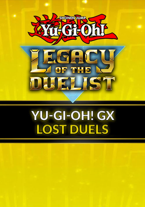 Yu-Gi-Oh! GX Lost Duels - Cover / Packshot