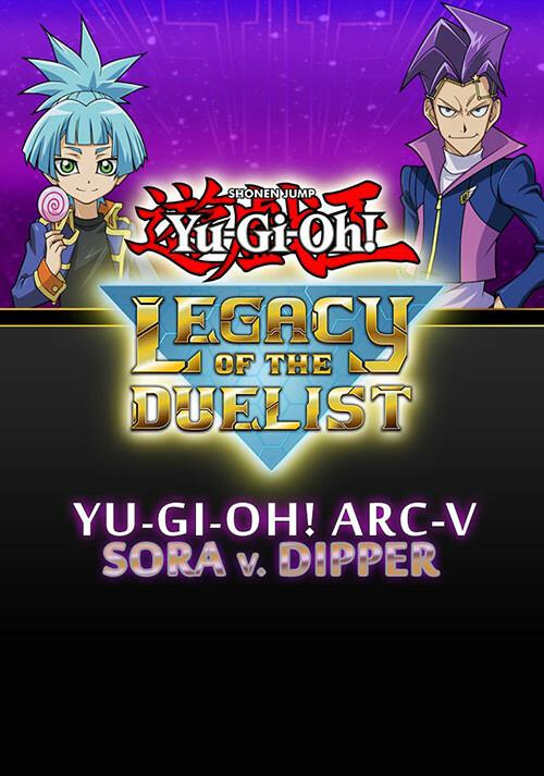 Yu-Gi-Oh! ARC-V Sora and Dipper - Cover / Packshot