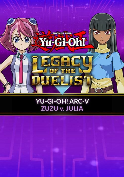 Yu-Gi-Oh! ARC-V Zuzu v. Julia - Cover / Packshot