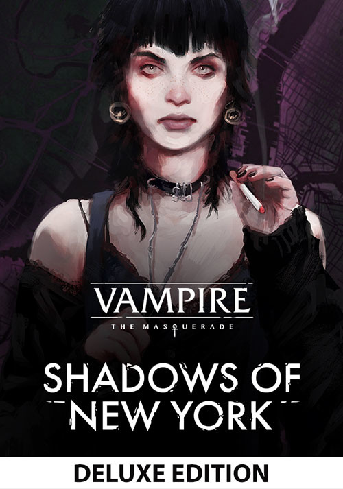 Vampire: The Masquerade - Shadows of New York Deluxe Edition - Cover / Packshot