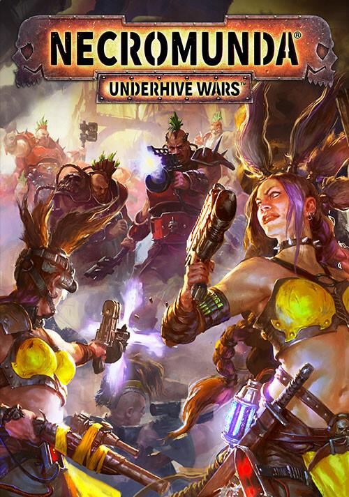 Necromunda: Underhive Wars - Cover / Packshot