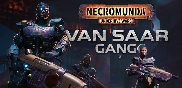 Necromunda: Underhive Wars - Van Saar Gang - Cover / Packshot