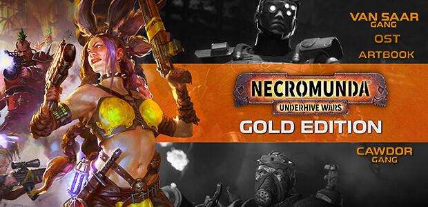 Necromunda: Underhive Wars - Gold Edition - Cover / Packshot