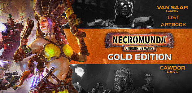 Necromunda: Underhive Wars - Gold Edition - Cover / Packshot