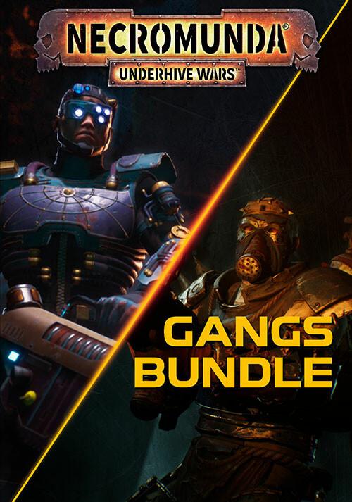 Necromunda: Underhive Wars - Gangs Bundle - Cover / Packshot