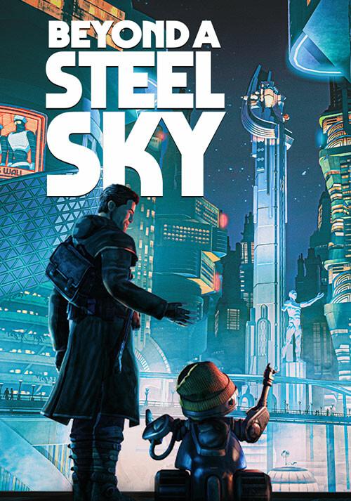 Beyond a Steel Sky - Cover / Packshot