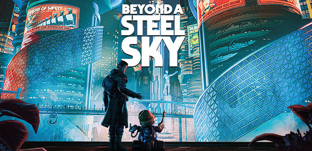 Beyond a Steel Sky - Cover / Packshot