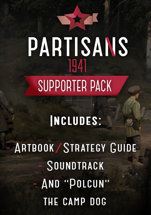 Partisans 1941 - Supporter Pack - Cover / Packshot
