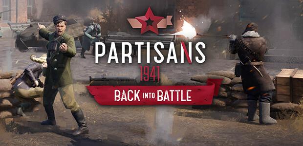 Partisans 1941 - Back into Battle - Cover / Packshot