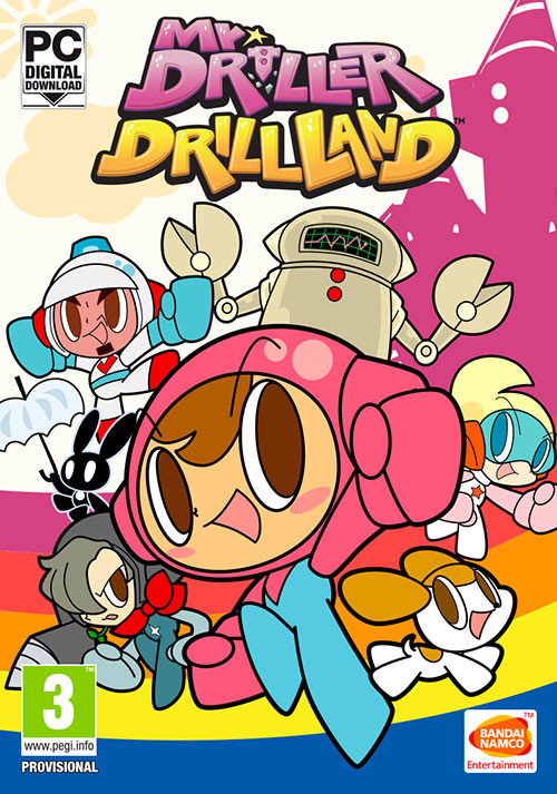 Mr. DRILLER DrillLand - Cover / Packshot