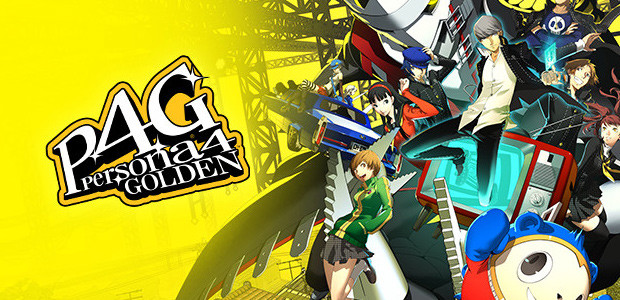 Persona 4 Golden - Cover / Packshot