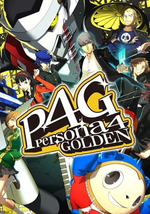 Persona 4 Golden - Cover / Packshot