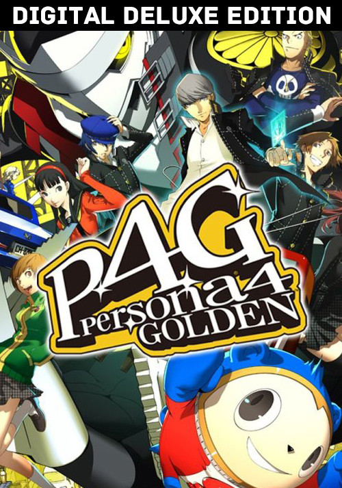 Persona 4 Golden: Deluxe Edition - Cover / Packshot