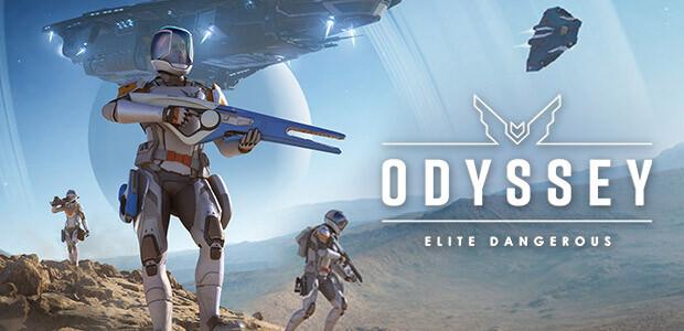 Elite Dangerous: Odyssey - Cover / Packshot