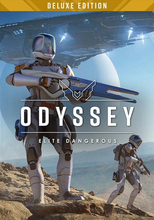 Elite Dangerous: Odyssey Deluxe Edition - Cover / Packshot