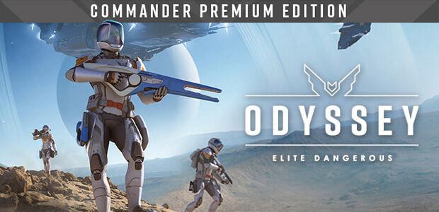Elite Dangerous: Commander Premium Edition - Cover / Packshot