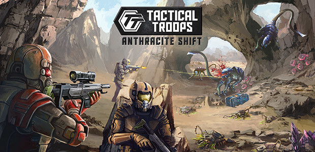 Tactical Troops: Anthracite Shift - Cover / Packshot