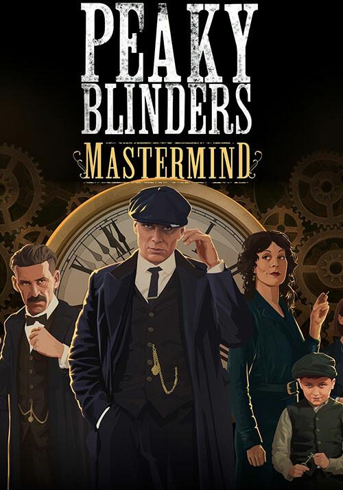 Peaky Blinders: Mastermind - Cover / Packshot