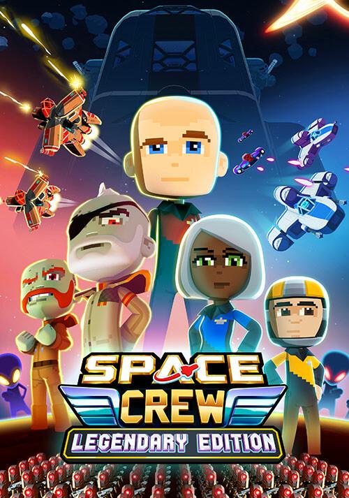 Space Crew - Cover / Packshot