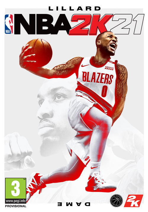 NBA 2K21 - Cover / Packshot