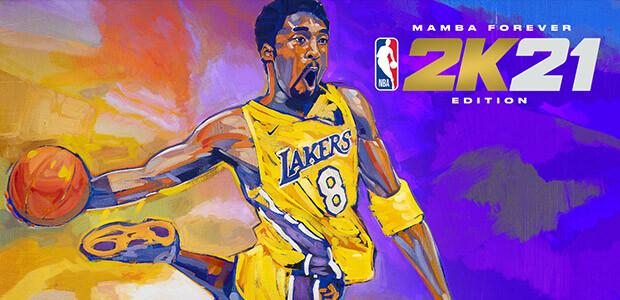 NBA 2K21 Mamba Forever Edition - Cover / Packshot