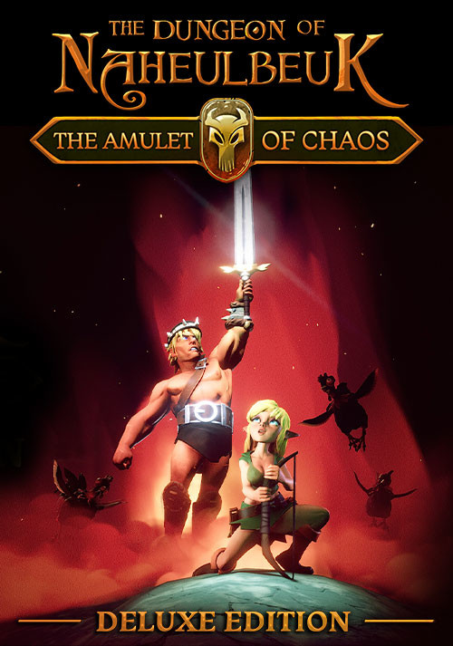 The Dungeon Of Naheulbeuk: The Amulet Of Chaos - Collector Edition - Cover / Packshot