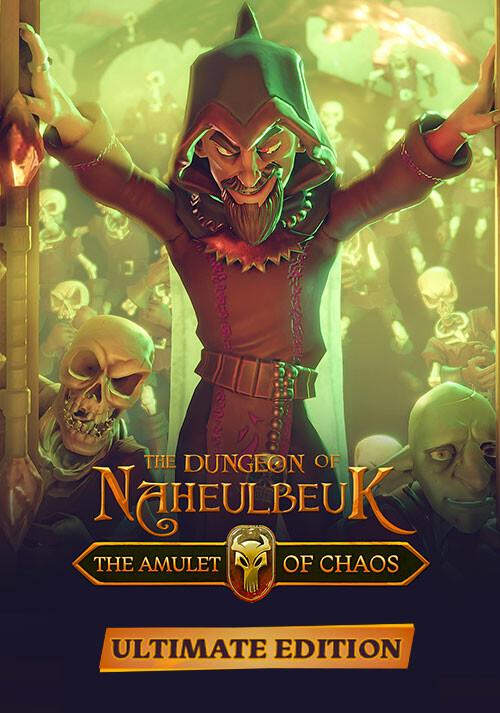 Le Donjon de Naheulbeuk : L'Amulette du Désordre - Ultimate Edition - Cover / Packshot
