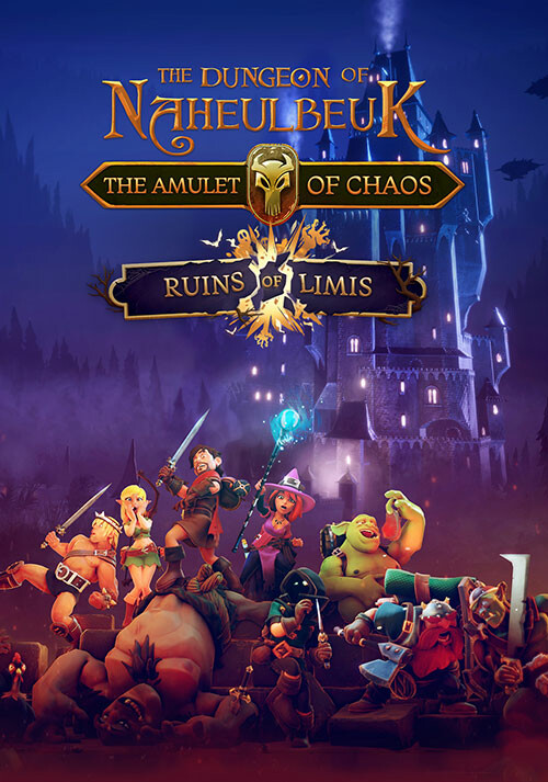 The Dungeon Of Naheulbeuk: Ruins of Limis - Cover / Packshot