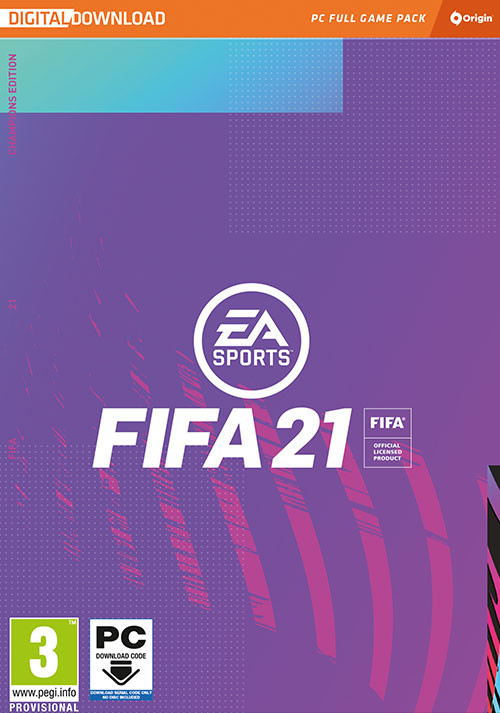 FIFA 21 Champions Edition - Cover / Packshot