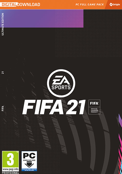 FIFA 21 Ultimate Edition - Cover / Packshot
