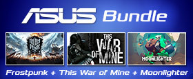 ASUS Bundle Frostpunk + This War of Mine + Moonlighter