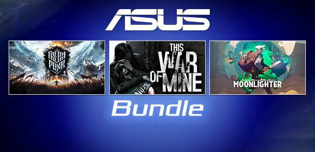 ASUS Bundle Frostpunk + This War of Mine + Moonlighter - Cover / Packshot
