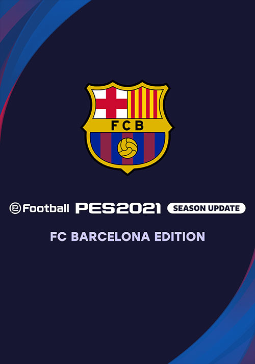 PES 2021 FC Barcelona Edition - Cover / Packshot