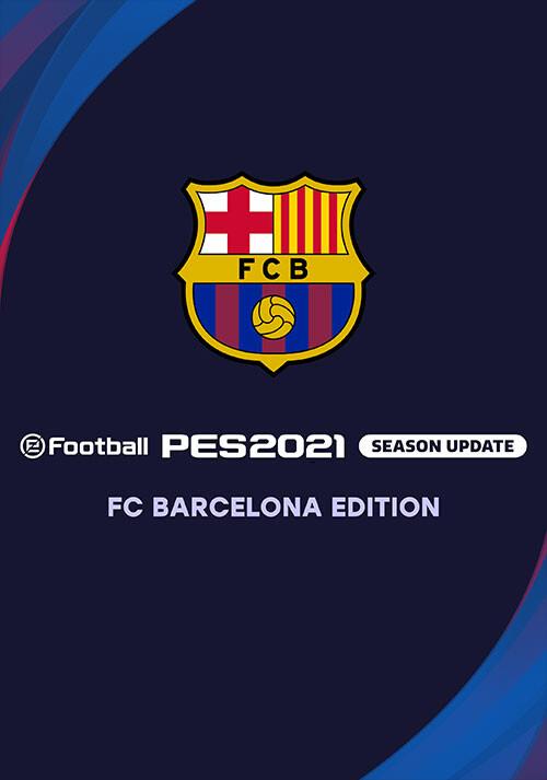 PES 2021 FC Barcelona Edition - Cover / Packshot